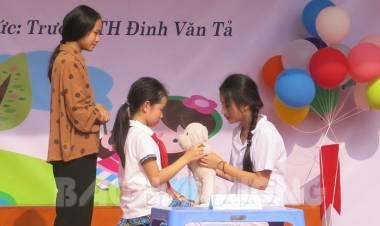 Chung tay phòng chống xâm hại trẻ em