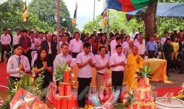 Khai hội truyền thống chùa Thanh Mai